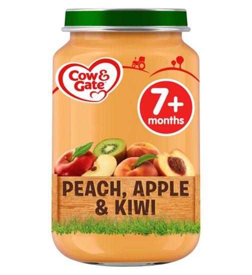 Cow & Gate Peach, Apple & Kiwi from 7m Onwards 200g