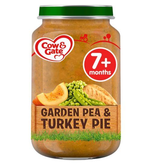 Cow & Gate Garden Pea & Turkey Pie from 7m Onwards 200g