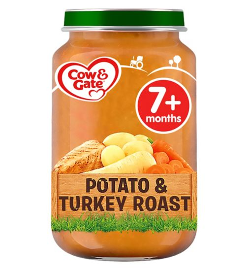 Cow & Gate Potato & Turkey Roast from 7m Onwards 200g