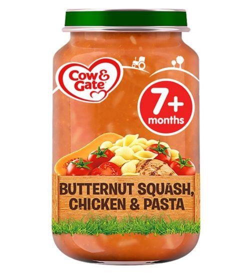 Cow & Gate Butternut Squash, Chicken & Pasta from 7m Onwards 200g