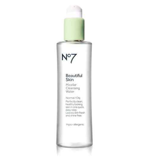 No7 Beautiful Skin Micellar Cleansing Water for Normal / Oily Skin 200ml