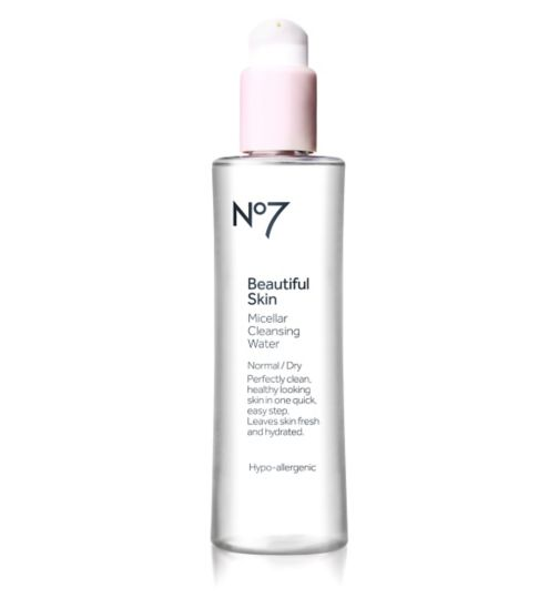 No7 Beautiful Skin Micellar Cleansing Water for Normal / Dry Skin 200ml