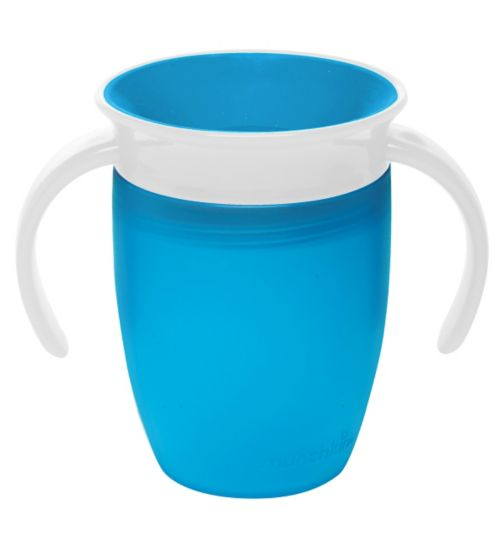 Munchkin 7oz Miracle® 360° Trainer Cup Blue