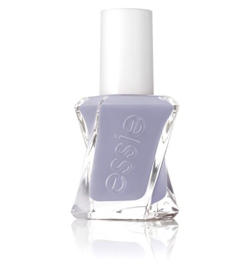 essie Gel Couture 190 Style In Excess Pale Purple Nail Polish