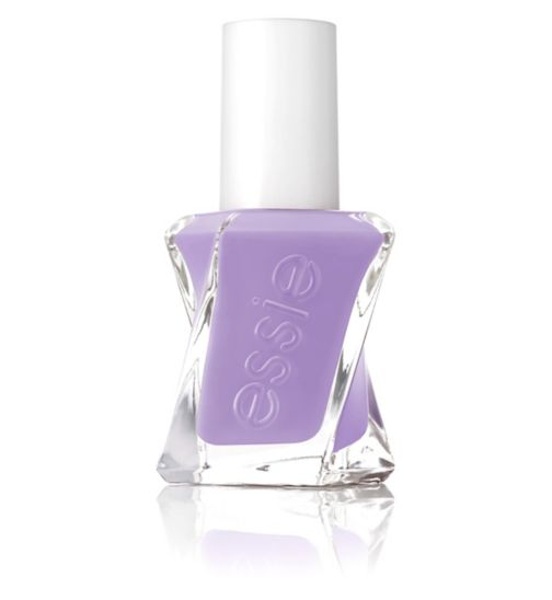 essie Gel Couture 180 Dress Call Purple Nail Polish