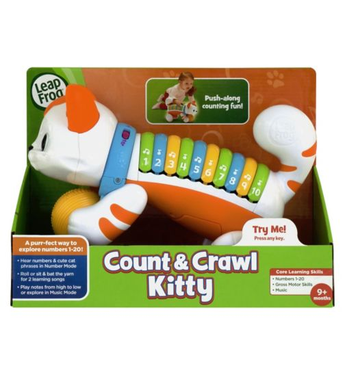 LeapFrog® Count & Crawl Kitty