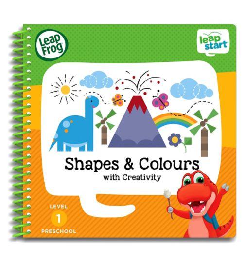 LeapFrog® LeapStart Preschool: Level 1 Shapes & Colours Activity Book
