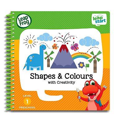 LeapFrog LeapStart Preschool Activity Book   Level 1 Shapes & Colours