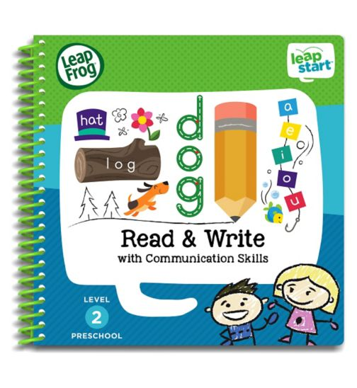 LeapFrog® LeapStart Preschool: Level 2 Read & Write Activity Book