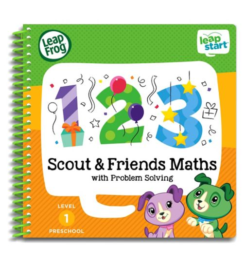 LeapFrog® LeapStart Preschool: Level 1 Maths Activity Book