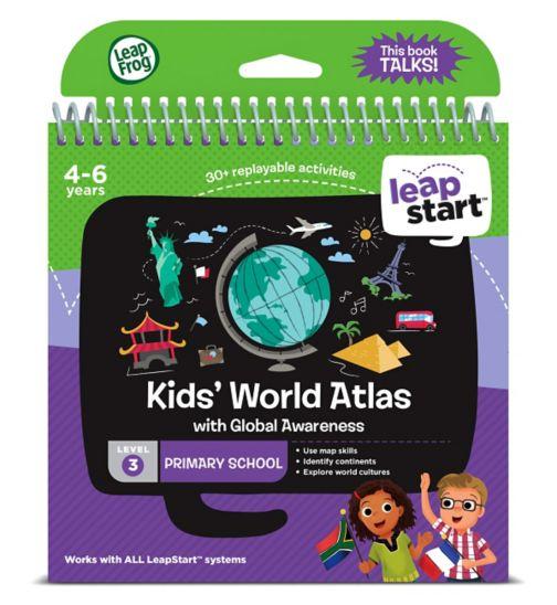 LeapFrog® LeapStart Primary School: Level 3 World Atlas Activity Book