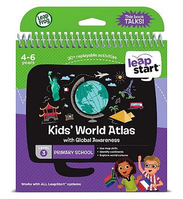 LeapFrog LeapStart Primary School Activity Book   Level 3 World Atlas