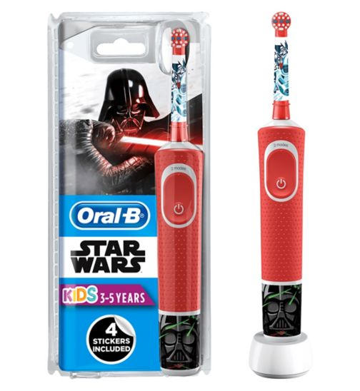 Oral-B Stages Power Kids Electric Toothbrush - Star Wars