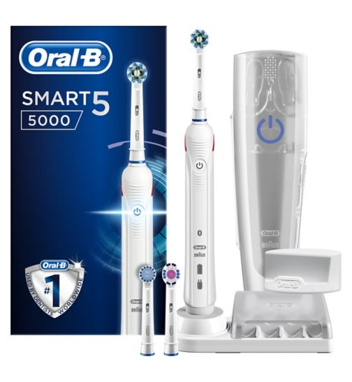 Oral-B Smart Series 5000 Electric Toothbrush with Bluetooth