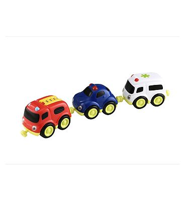 ELC Whizz World Emergency Vehicle Trio