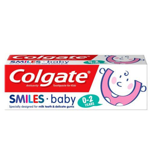 Colgate Smiles 0-2 Years Baby Toothpaste 50ml