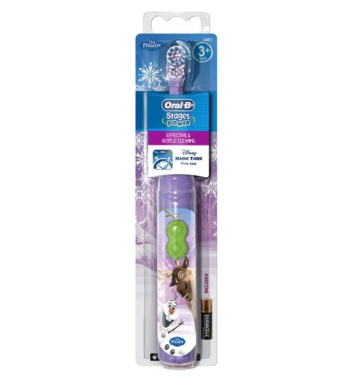Oral-B Kids Battery Toothbrush Featuring Frozen Characters