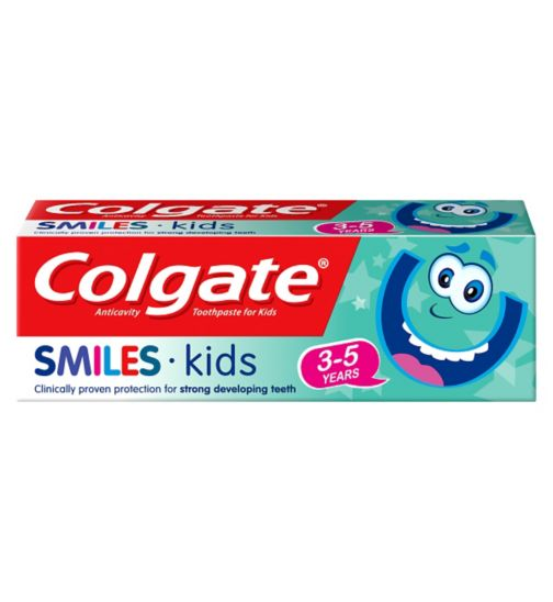 Colgate Smiles 3-5 Years Kids Toothpaste 50ml