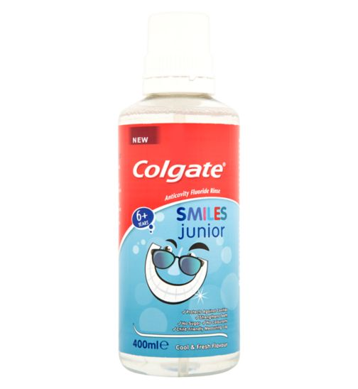 Colgate Smiles Junior Mouthrinse 400ml