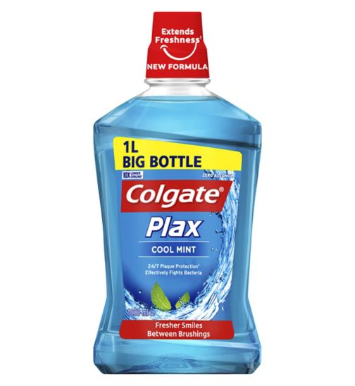 Colgate Plax Cool Mint Mouthwash 1L