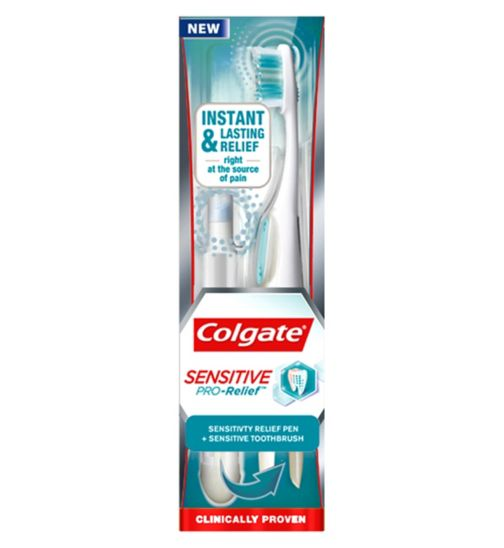 Colgate Sensitive Pro-Relief Manual Toothbrush and Sensitivity Pen