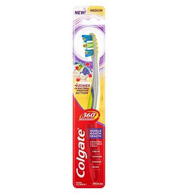 Colgate 360 Advanced Medium Toothbrush