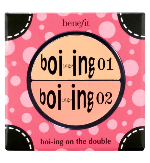 Benefit boi-ing on the double concealer duo