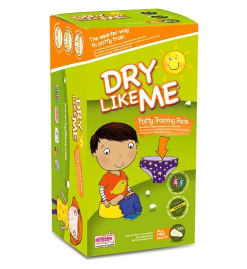 Dry Like Me Original Potty Training Pads x 18 pads