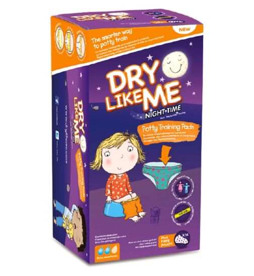 Dry Like Me Night Time Potty Training Pads x 14 pads