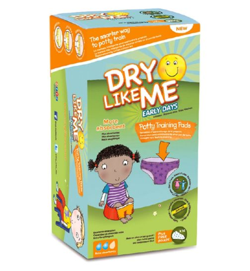 Dry Like Me Early Days Potty Training Pads x 14 pads