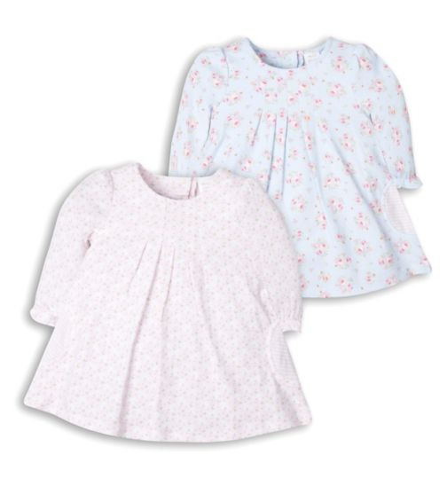Mini Club Baby Girls Pack of Two Jersey Dresses