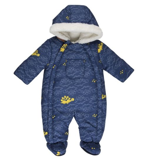 Mini Club Baby Boys Dinosaur Snowsuit