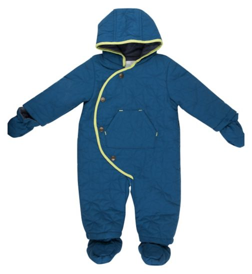 Mini Club Baby Snowsuit Blue