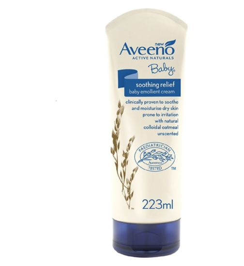 Aveeno Baby Soothing Relief Emollient Cream 223ml
