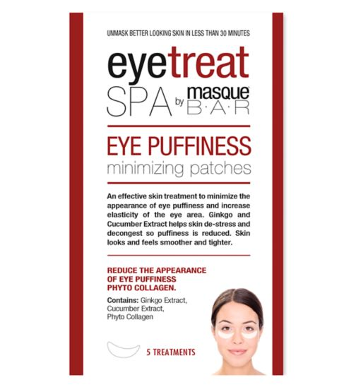 Masque Bar Eye Puffiness Minimizing Patches - 5ct