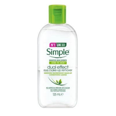 Simple Kind To Skin Eye Make Up Remover Dual Effect 125ml by Simple