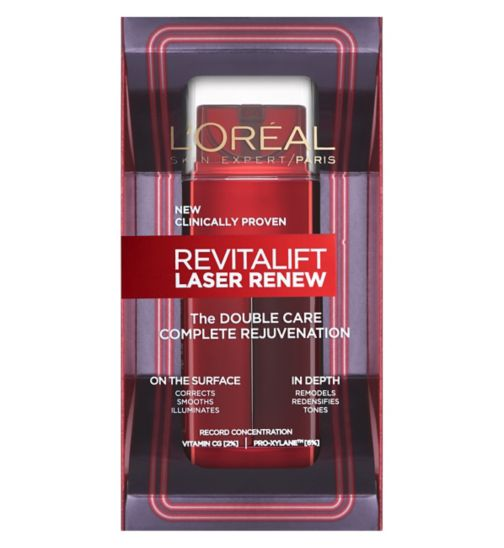L'Oréal Paris Revitalift Laser Renew The Double Care 48ml