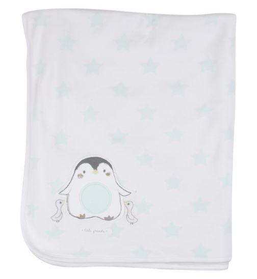 Mini Club Baby Shawl Penguin