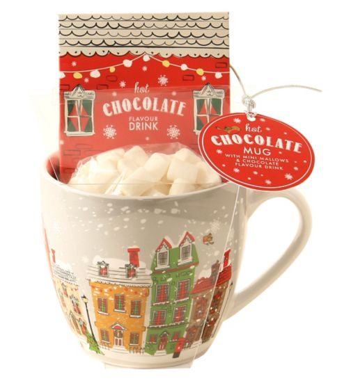 Festive Hot Chocolate Mug