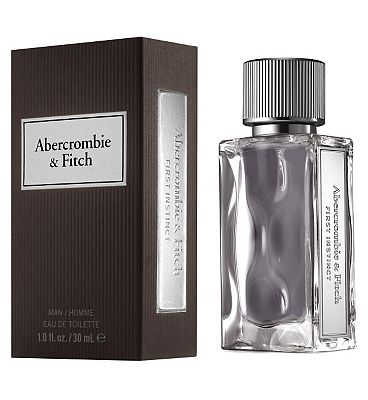 abercrombie & fitch first instinct eau de toilette 30ml