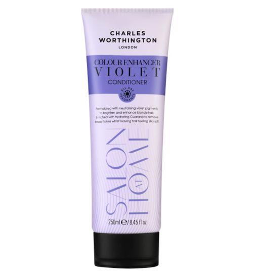 Charles Worthington Colour Enhancer Violet Conditioner 250ml