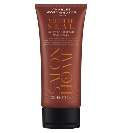 Charles Worthington Moisture Seal Overnight Ultimate Hair Healer Treatment 200ml