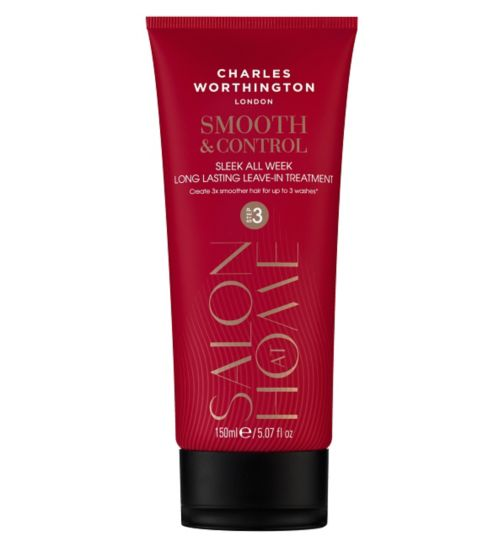Charles Worthington Smooth & Control Sleek All Week Long-Lasting Leave-In Treatment 150ml