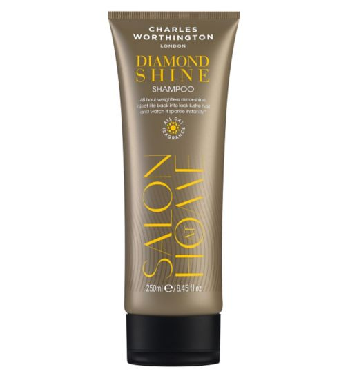Charles Worthington Diamond Shine Shampoo 250ml