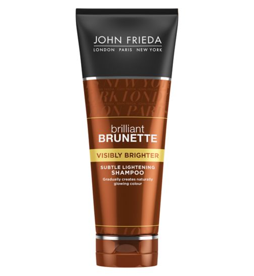 John Frieda Brilliant Brunette visibly brighter shampoo 250ml