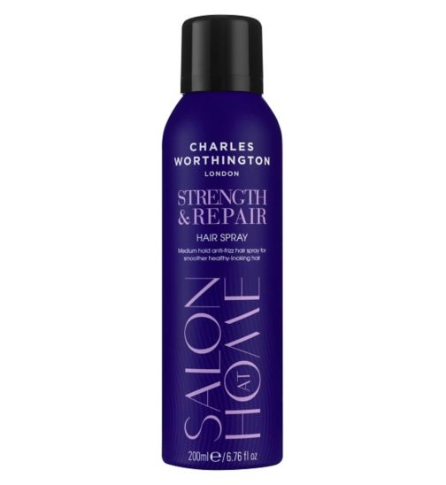 Charles Worthington Strength & Repair Hair Spray 200ml