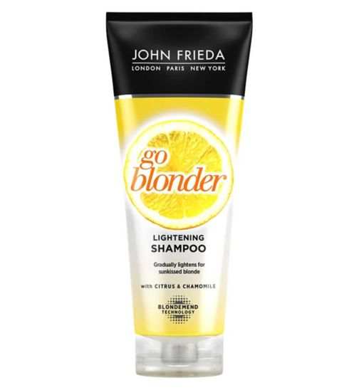 John Frieda Sheer Blonde Go Blonder Lightening Shampoo 250ml