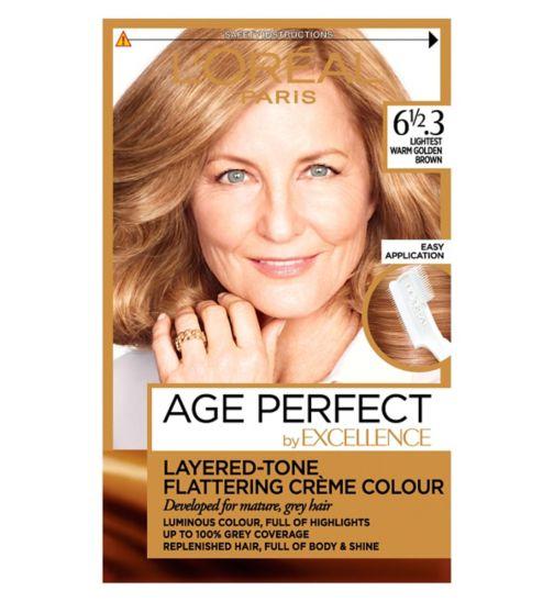 L'Oreal Paris Excellence Age Perfect 6 1/2.3 Lightest Warm Golden Brown