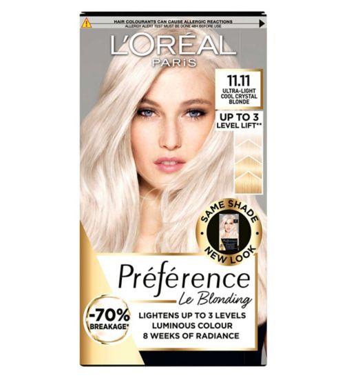 Preference 11 Ultra Light Crystal Blonde Permanent Hair Dye