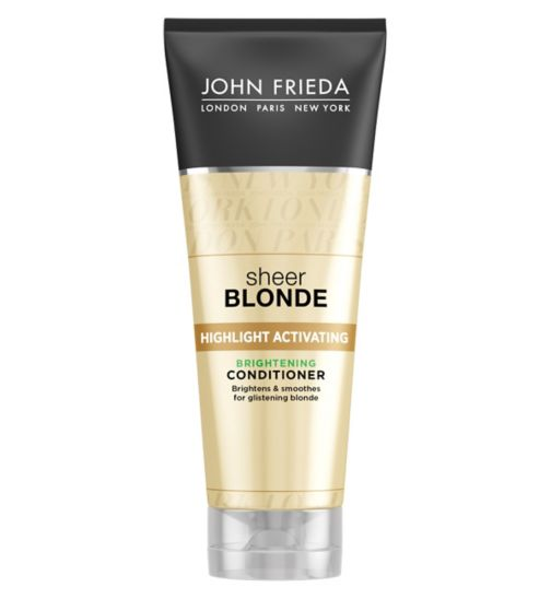 John Frieda Sheer Blonde Brightening Conditioner 250ml